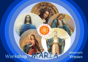 Maria – Universele Vrouwe workshop