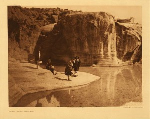 Acoma water carriers door Edward Curtis