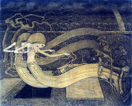Schildering van Jan Toorop
