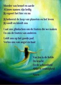 Het 'Onze Moeder' gebed