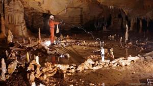 Stapel stalagmieten in Franse grot blijkt oudste menselijke bouwwerk