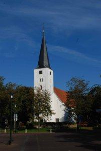 Het Witte Kerkje en Willibrordusput in Heiloo