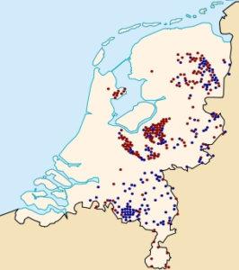 Grafheuvels in Nederland