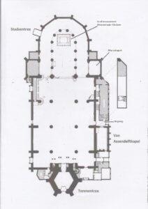 Grote St Jacobs Kerk_plattegrond AA