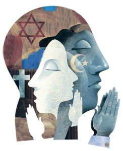 De vergeten vrouwelijke kant van drie monotheïstische wereldgodsdiensten